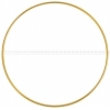 "Metal Rings 27""/68.5cm Brass 6mm Thick."